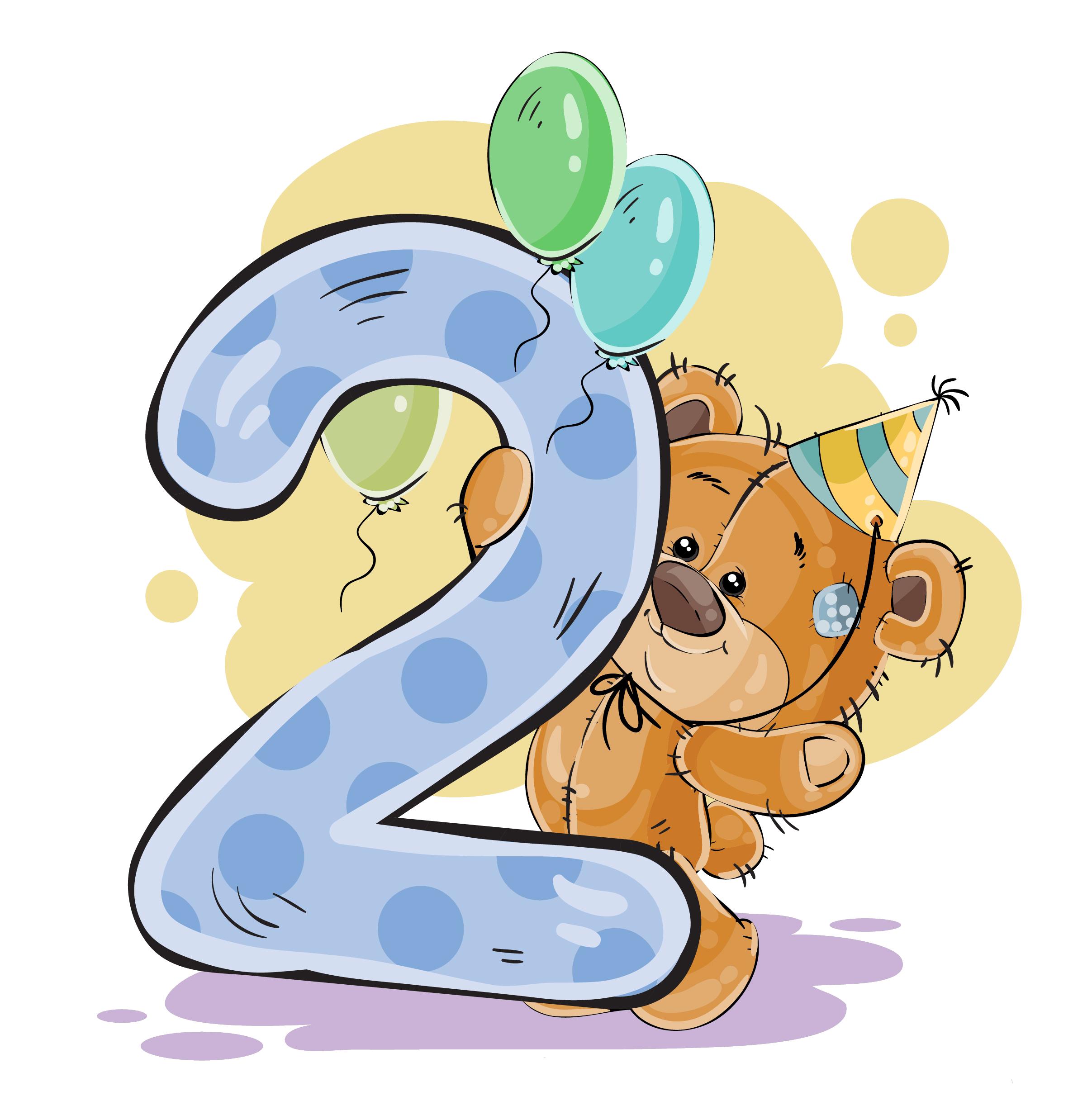 Картинка на 2 месяца малышу, анимашки