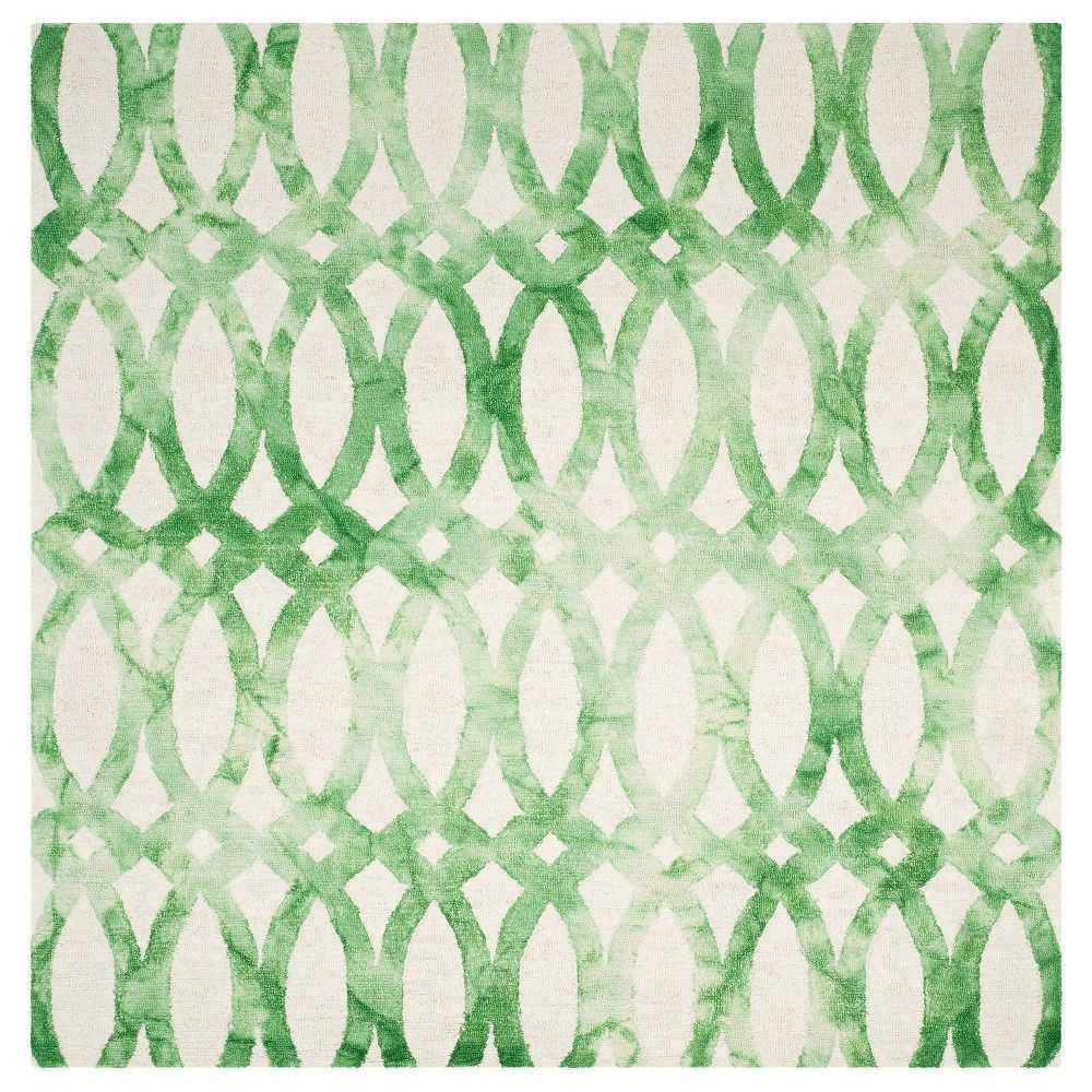 Safavieh adney area rug ivorygreen uxu square products