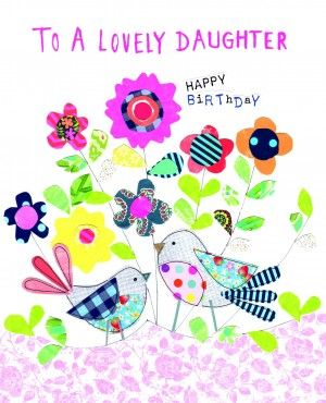 A daughter birthday card handmade cards pinterest daughter beautiful greetings cards is the home of quality birthday handmade and bespoke cards from a huge range of independent companies all available to buy m4hsunfo
