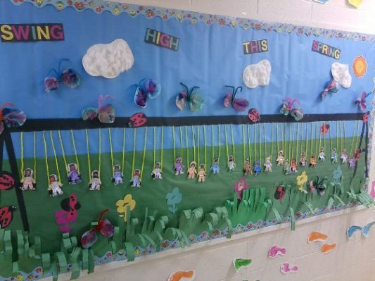 Pre K Spring Bulletin Board Ideas