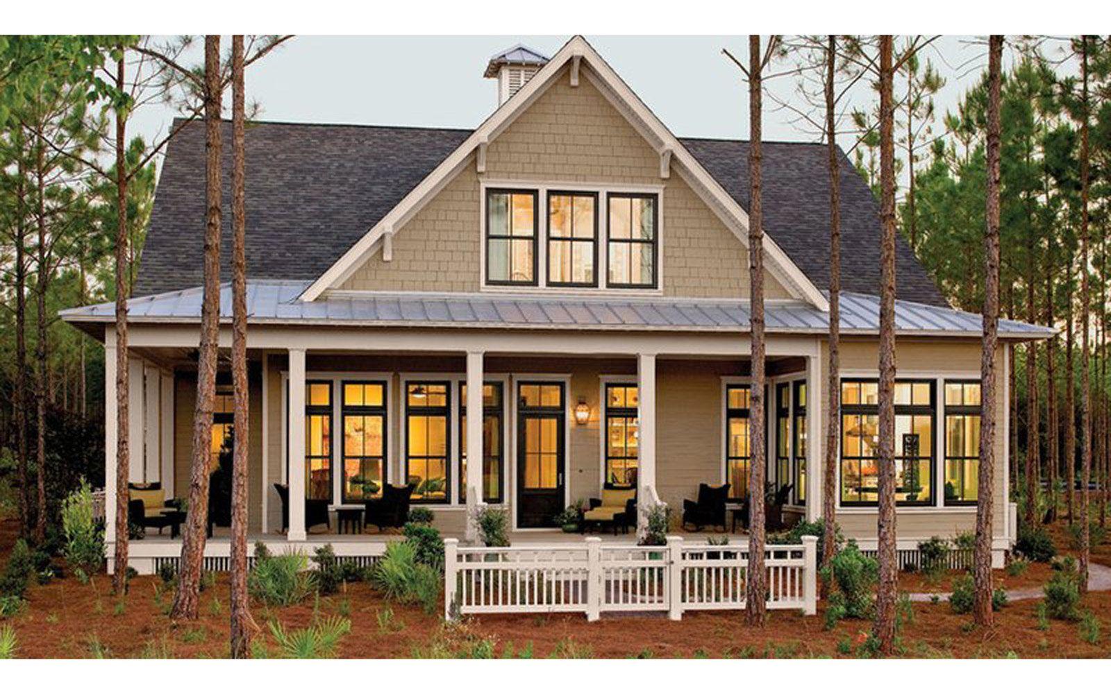 Dreamy House Plans Built For Retirement Southern House Plans Southern Living House Plans Craftsman House Plans