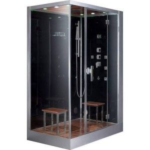 Ariel Bath Dz961f8 R Platinum Steam Shower Sauna 59 X 35 4 Rectangular 2 Person Right Side Opening Steam Shower Enclosure Shower Enclosure Shower Enclosure Kit