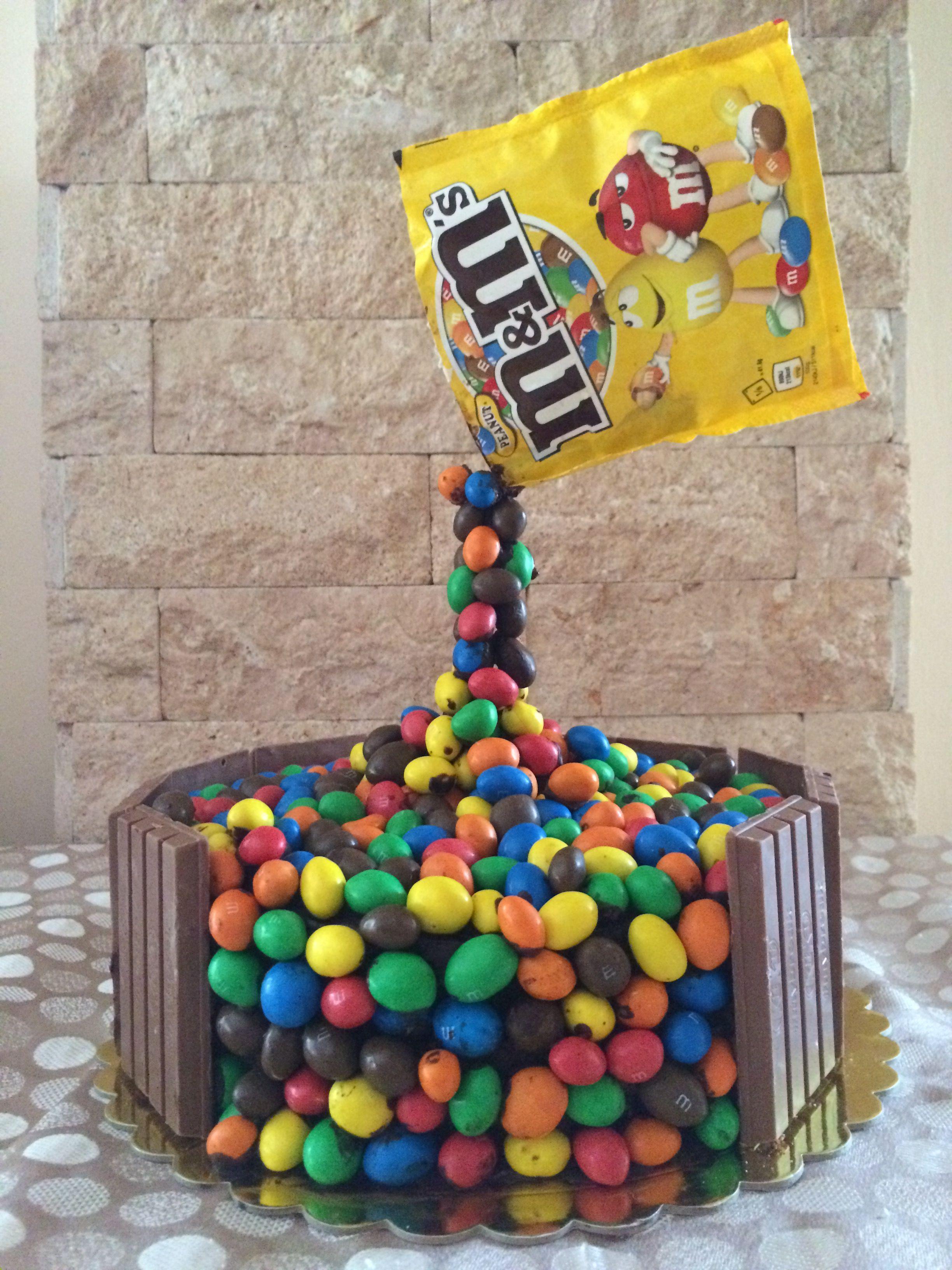 Gravity mms birthday cake cake birthday cake desserts