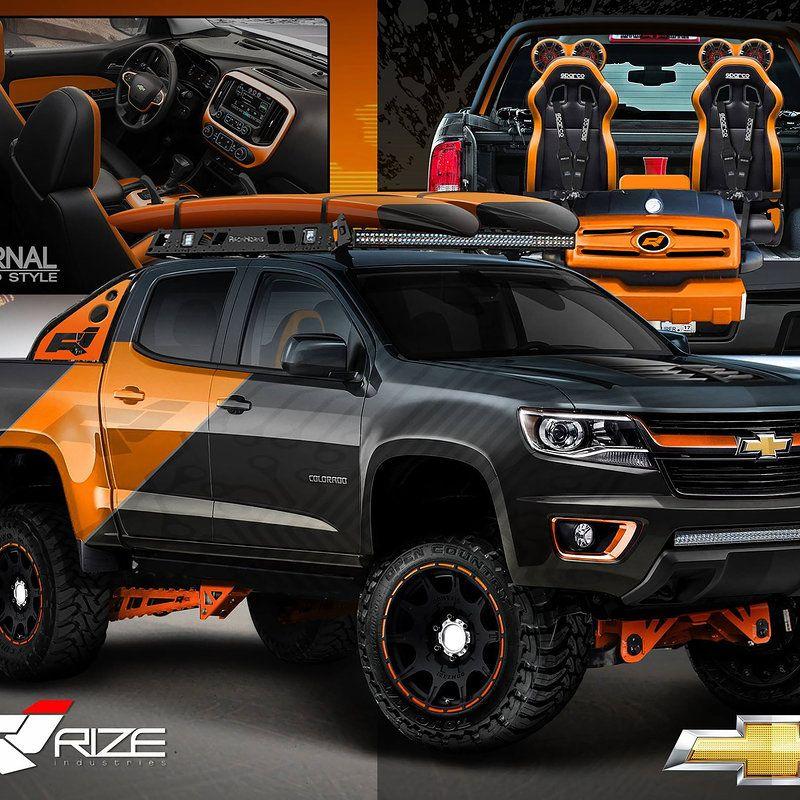 Colorado Zh2: Rize Industries 2015 Chevy Colorado SEMA Proposal