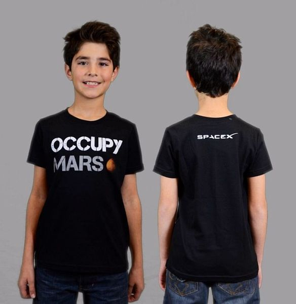 youth occupy mars t shirt who will be the first kid on mars will