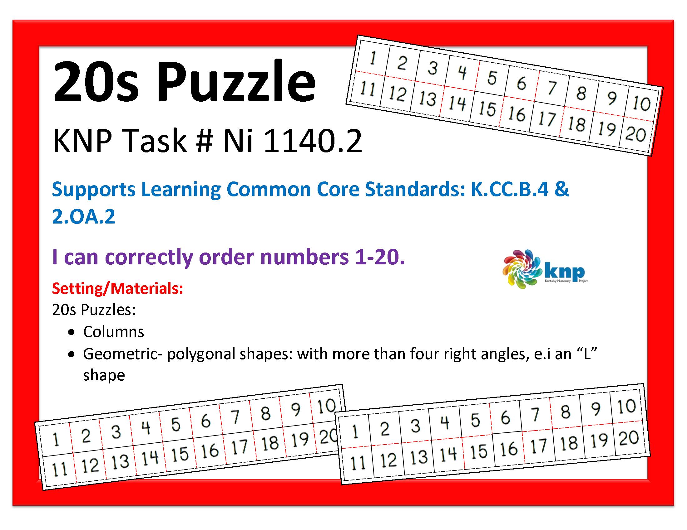 20 Puzzle