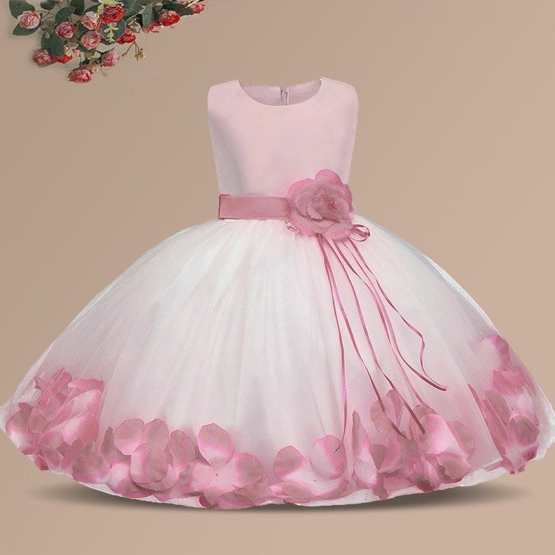 052888c521cff Ai Meng Baby Flower Baby Girl Christening Gown Baptism Clothes ...