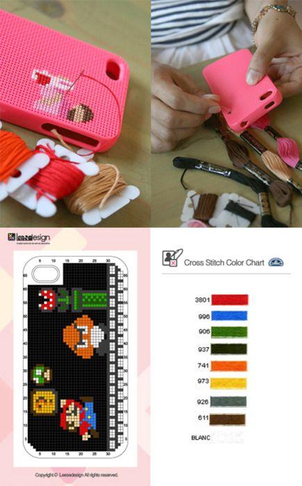 Diy Geeky iphone case