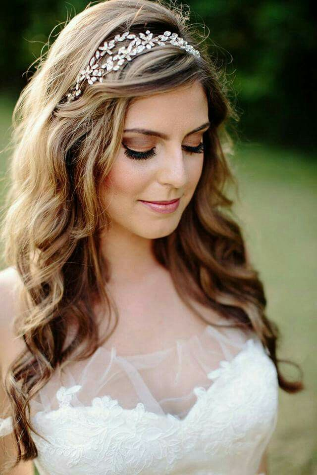 Pin By Sonia Moreira On Wedding Hairs Bride Hairstyles Wedding