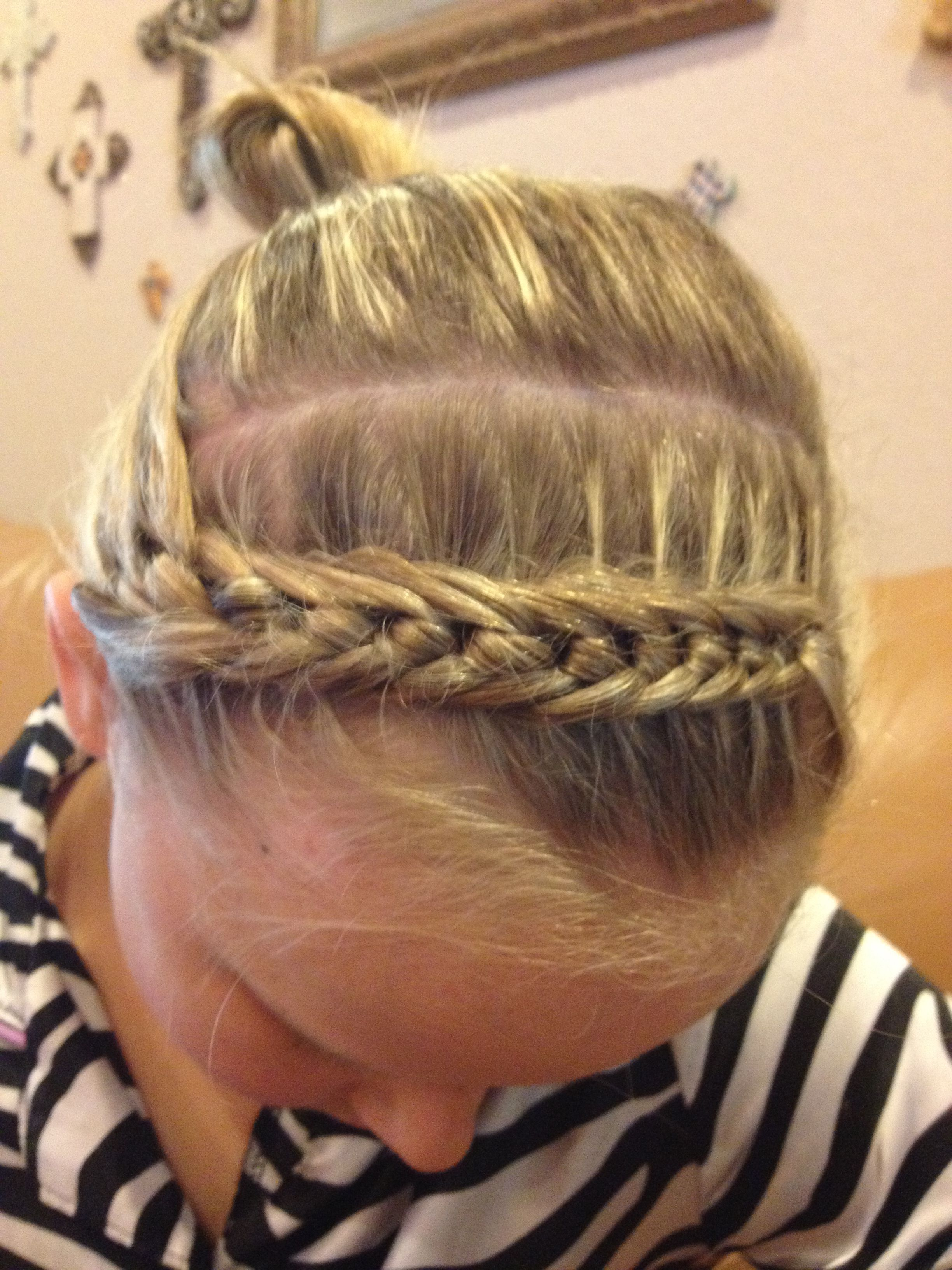 Jadeus knotted bang braid hair u makeup u nails pinterest