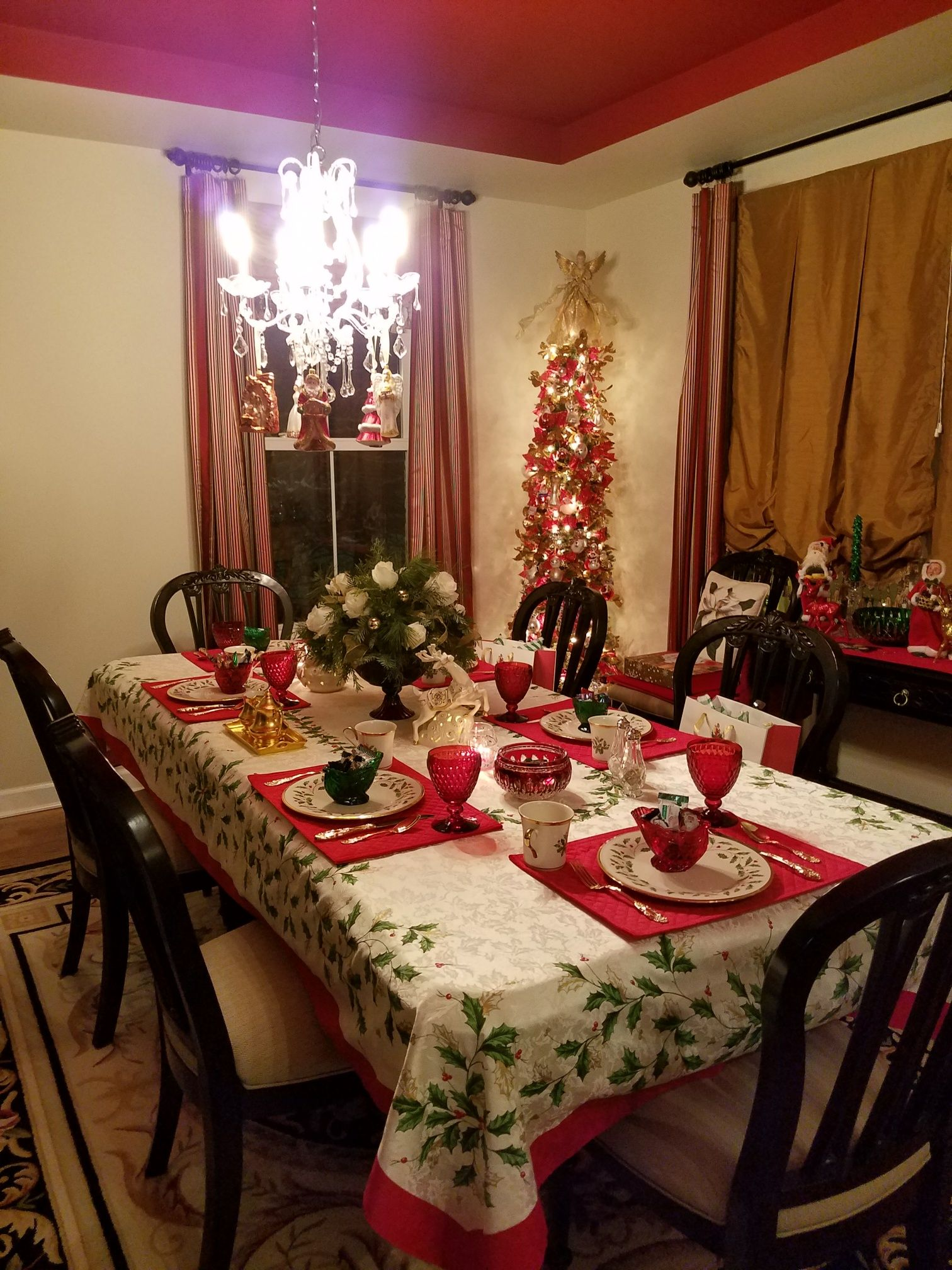 Lenox Holiday China Lenox Holiday Tablecloth With Villeroy And