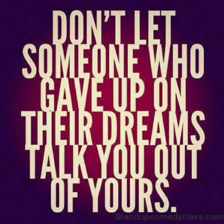 Don't let anybody steal your DREAM! -Dexter Yager