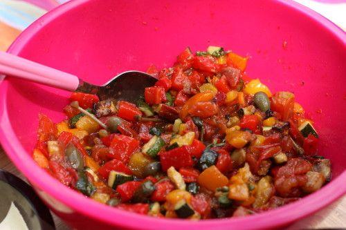 salade de l gumes grill s pic nic recipes cooking et legumes. Black Bedroom Furniture Sets. Home Design Ideas