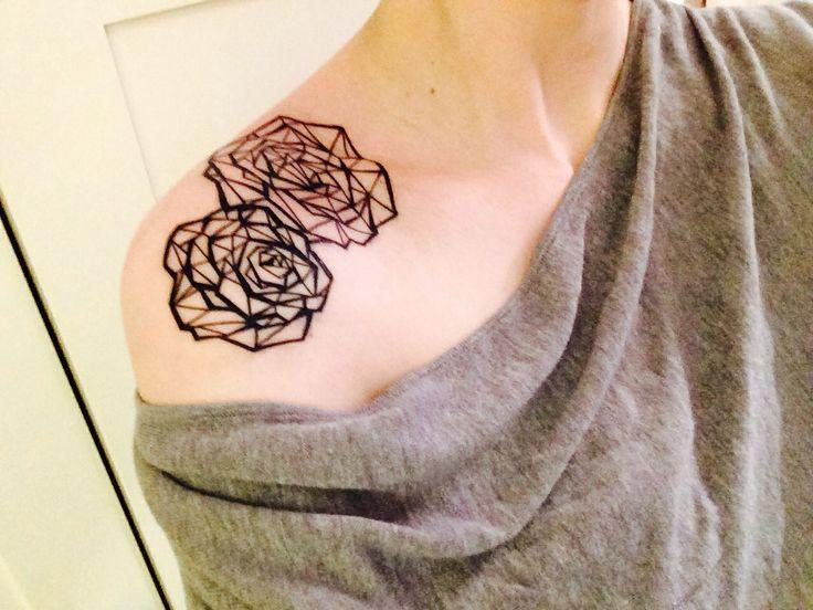 Rose Graphique Tatouage Tatuaggi