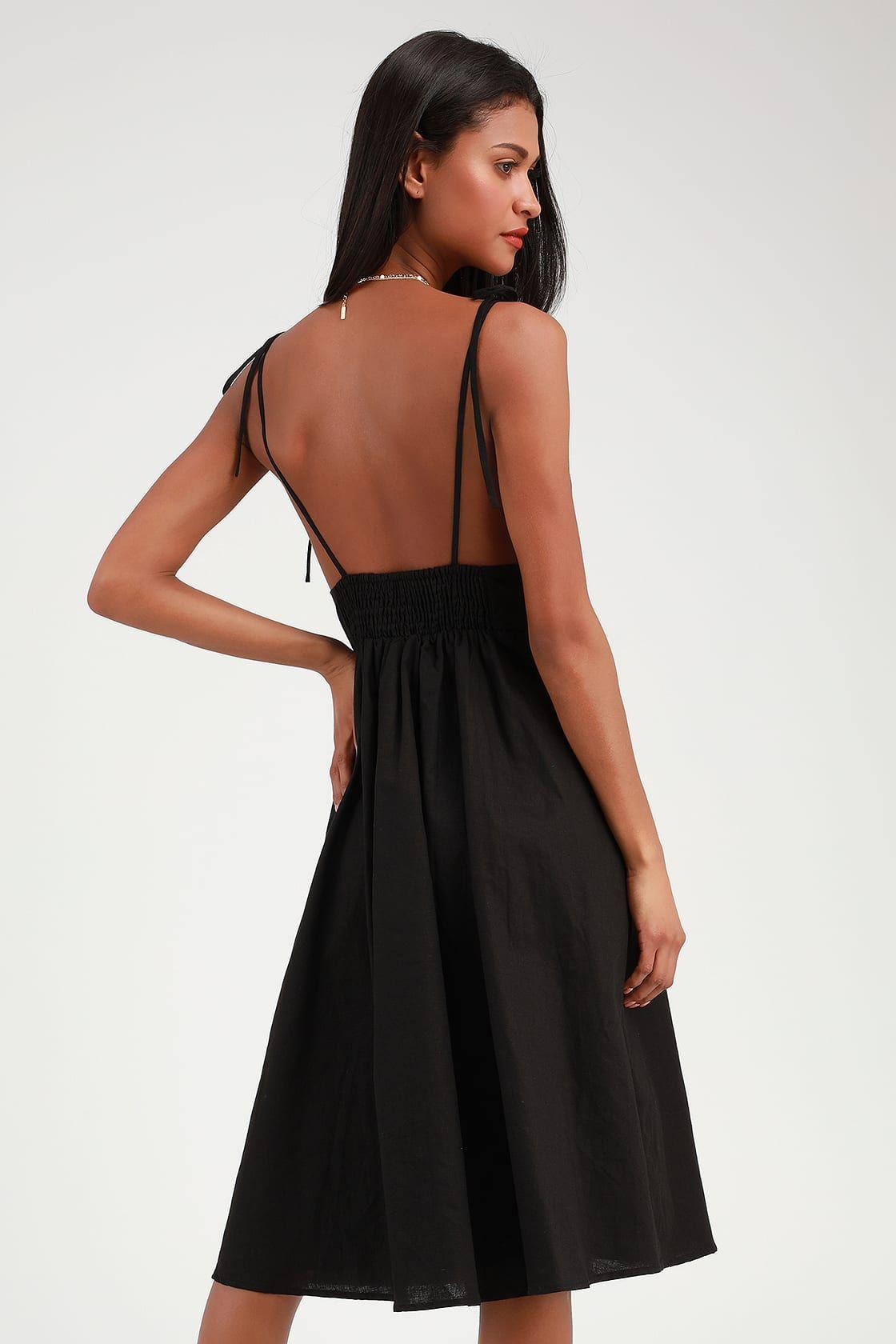 Style Refresh Black Midi Skater Dress Midi Skater Dress White Midi Dress Cute Black Dress [ 1680 x 1120 Pixel ]