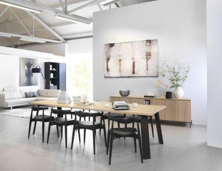 Lichte design eetkamer verkrijgbaar bij Meubelen Larridon #meubels ...
