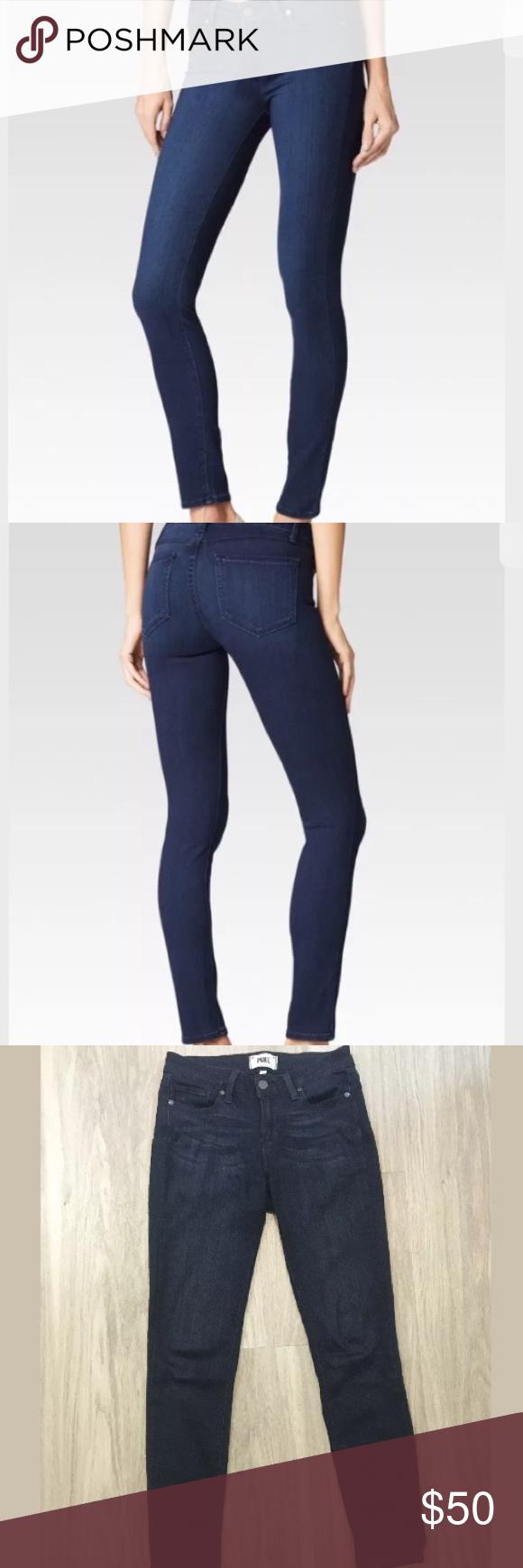 Paige Denim Verdugo Ankle Paige denim dark wash Verdugo ankle size 26 Paige Jeans Jeans Skinny