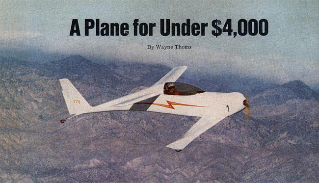 Homebuilt Airplanes Kit Planes Airplane Plane