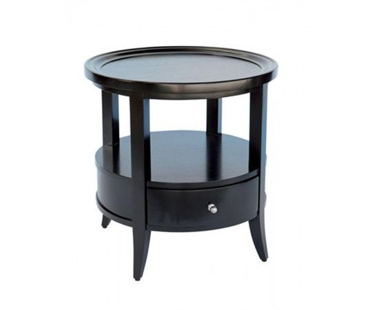 Coco Round Side Table View By Collection Xavier Furniture Hamptons Style Modern Elegance Caribbean Side Table Round Side Table Wooden Bedside Table