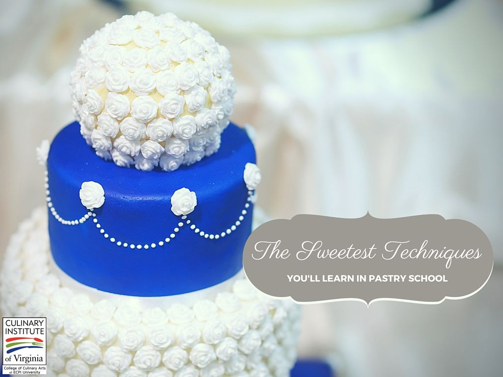 Trade in that suit and tie for a fun, tasty career as a baking and pastry chef! Here are just a few of the sweet things you'll learn in pastry school!