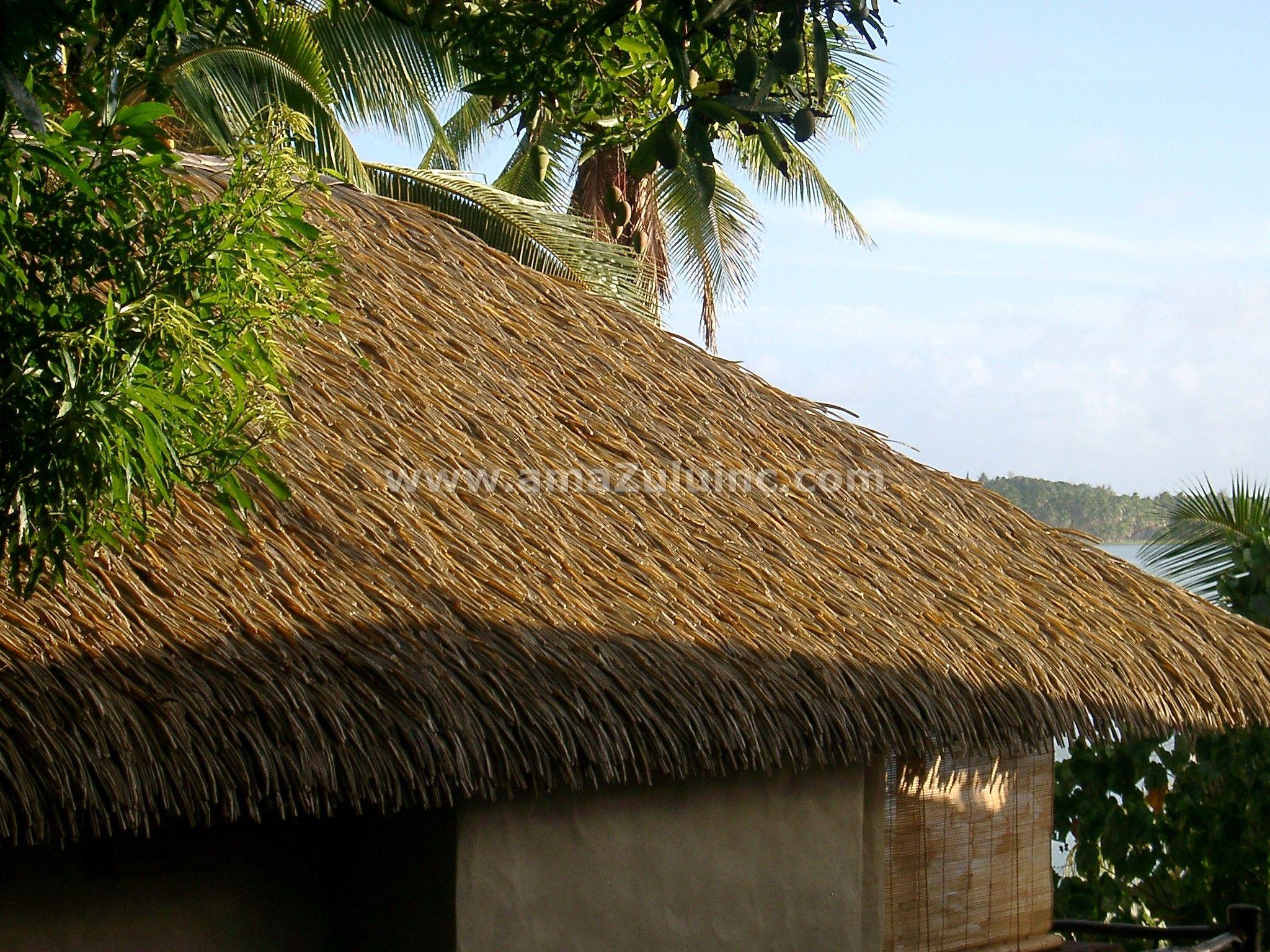 Rio Palm Thatch By Amazulu Inc Thatch Thatched Roof Palm