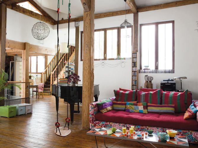 Visites dintérieurs de maisons dappartements et de lofts elle décoration