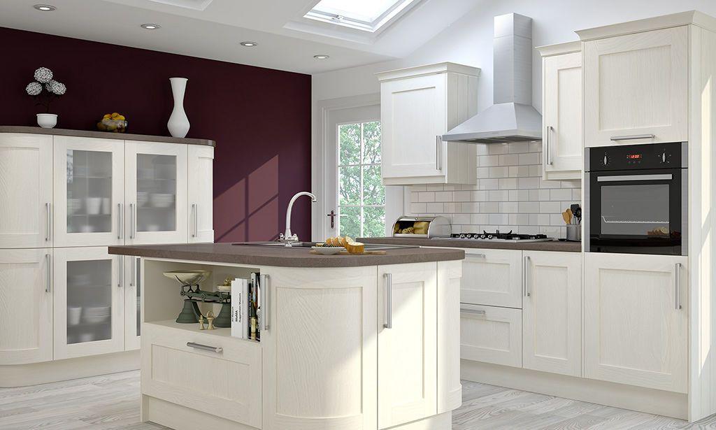 shaker alabaster timber kitchen image 2   bellissime cucine per