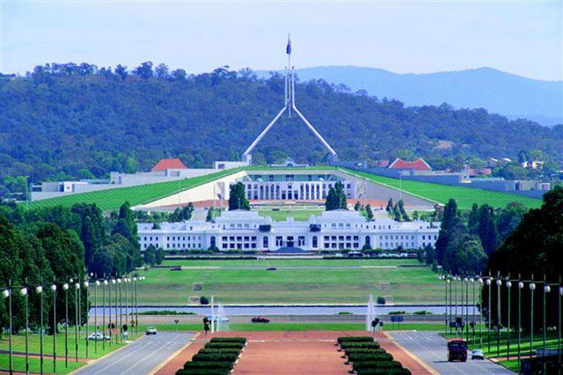 Parliament Building in Canberra, Australia Australian