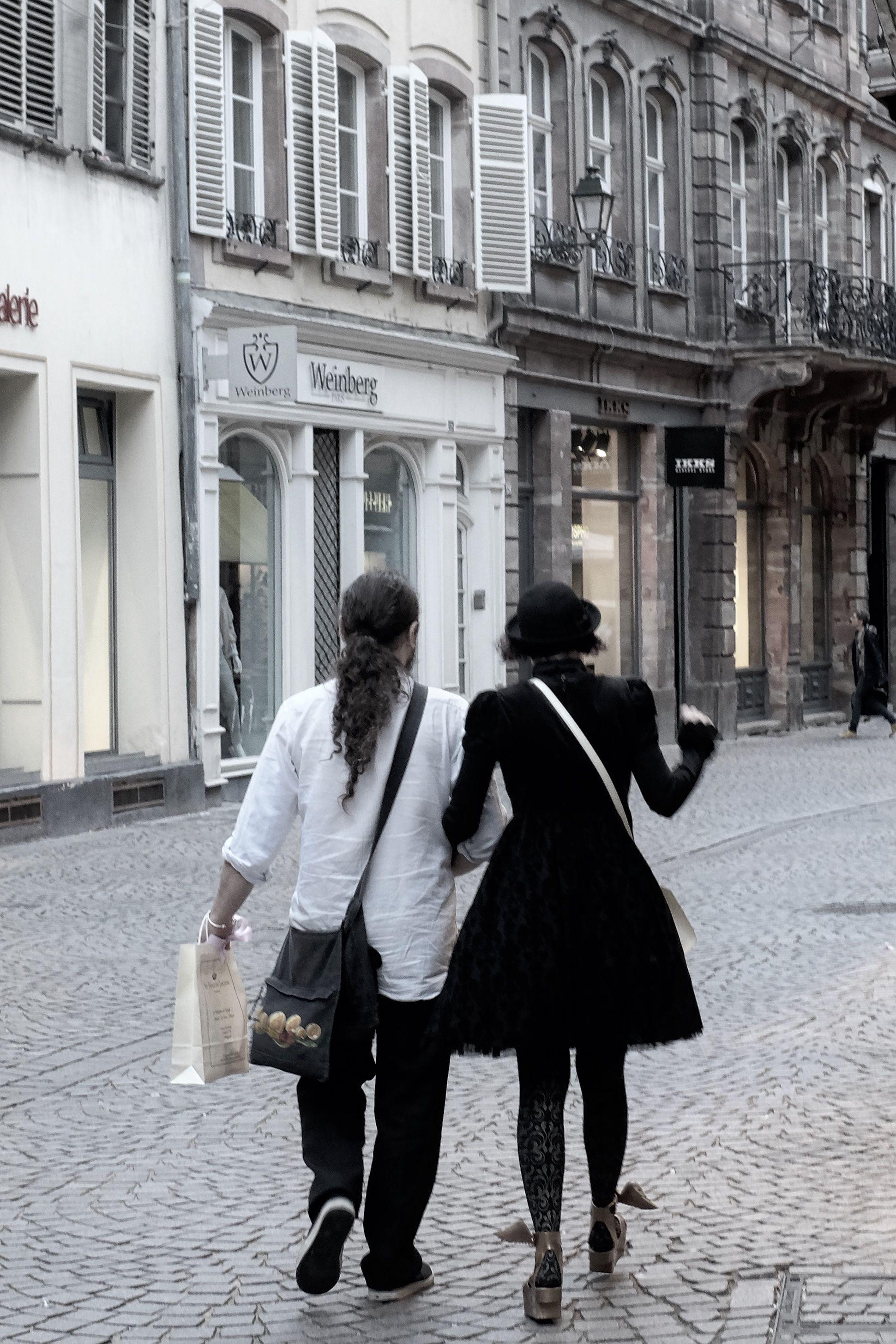 Einkaufen In Straßburg