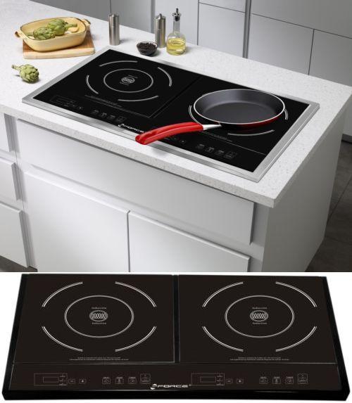 Cooktops 71246: Induction Stove Cooktop Portable Double Burner Cooker  Electric Countertop  U003e BUY IT