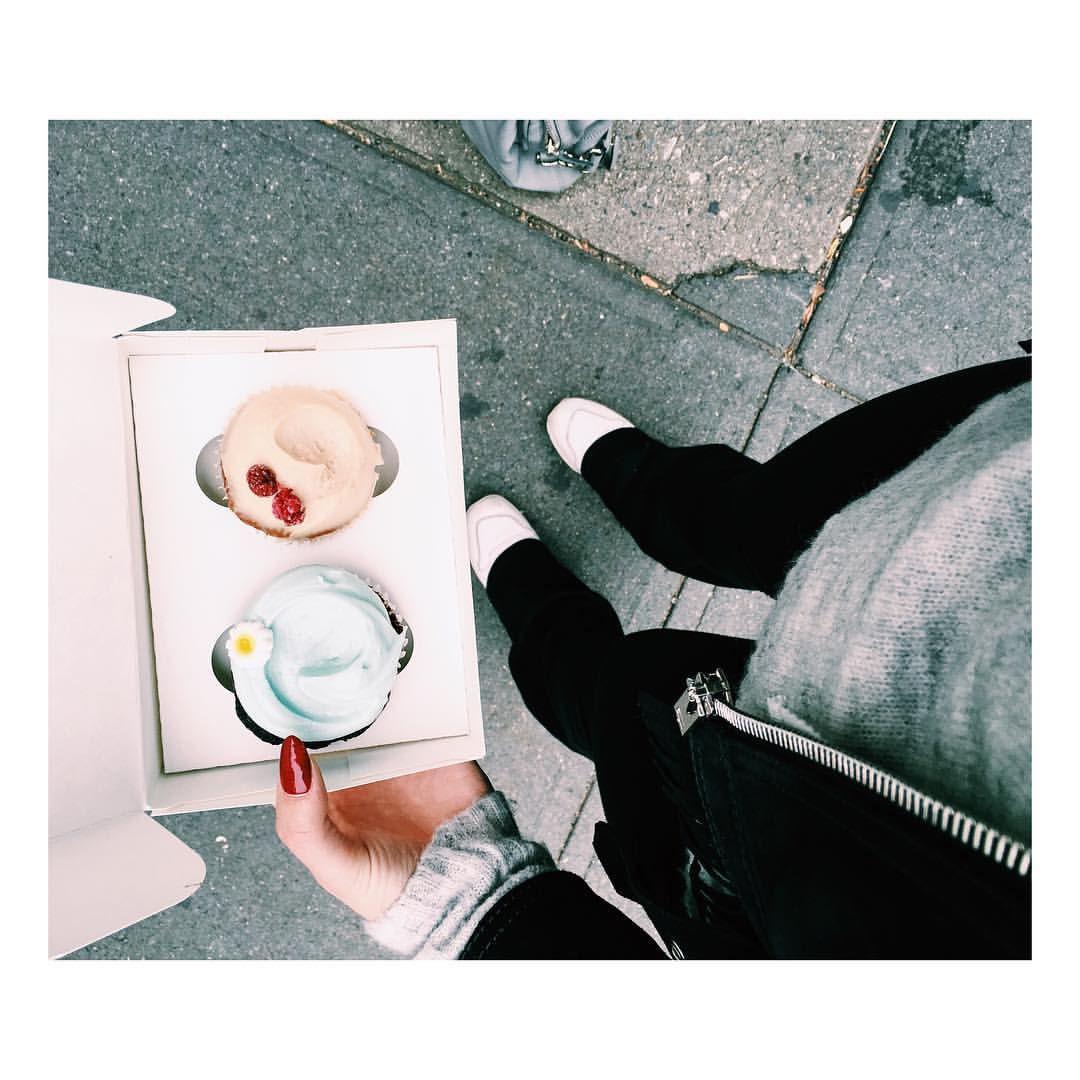 Yes  #magnoliabakery #cupcakes #yum #kajamarietravels #newyork