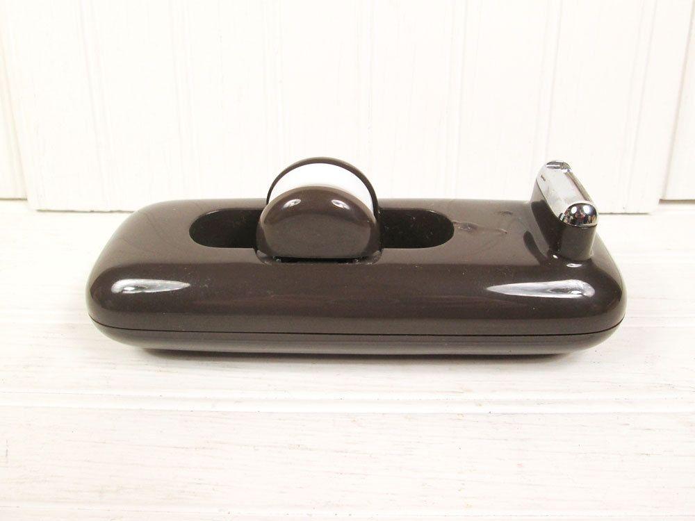 Attirant Vintage+Tape+Dispenser+Brown+Plastic+Eldon+by+vintagegoodness,