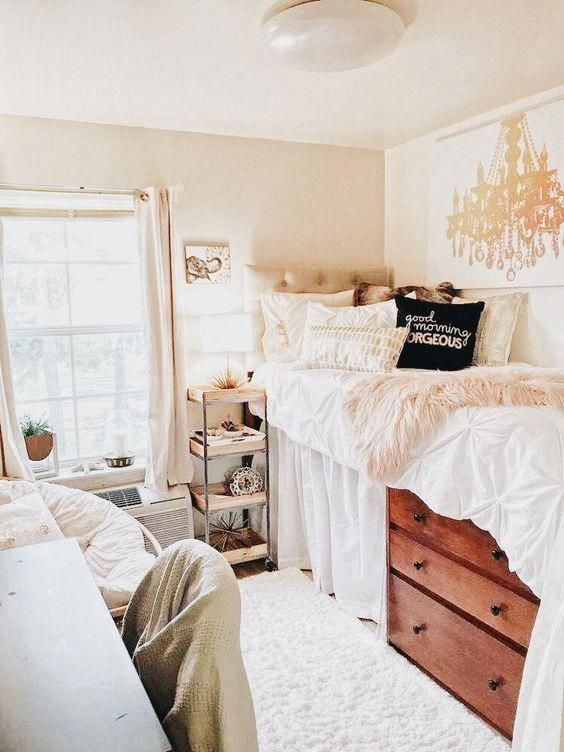 Pin-spiration: Dorm Rooms - France & Sun Blog #CollegebedroomDecoration #collegedormroomideas