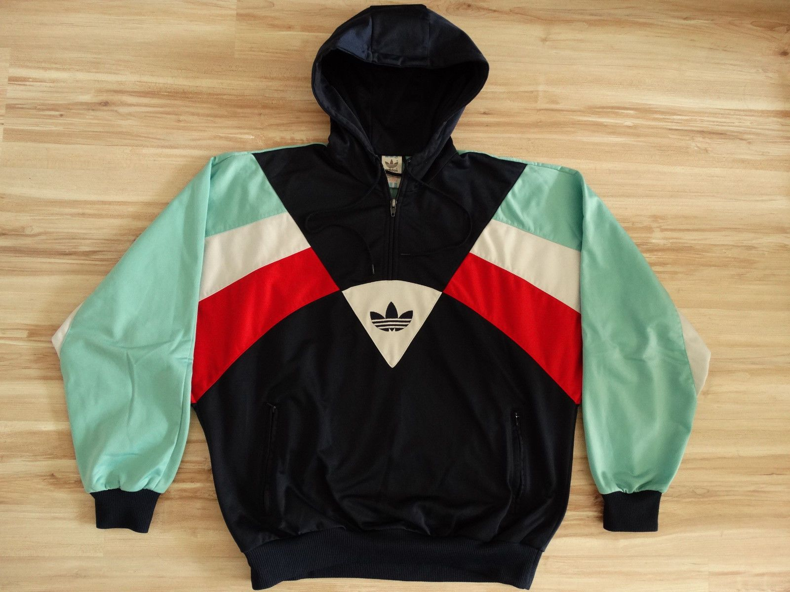 Rare Vintage Adidas Colorado Tracksuit Jacket Zip Top