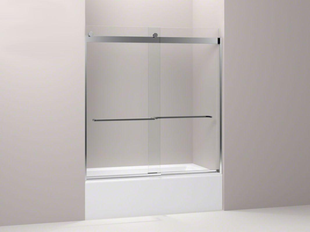 Kohler K 706007 L Products Shower Doors Clear Glass Top