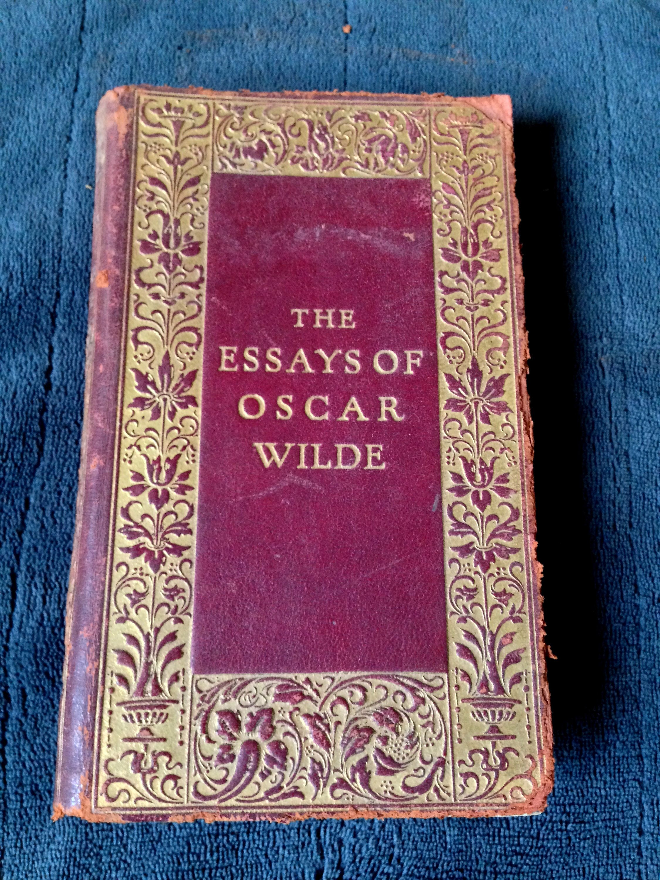 A Personal Favorite From My Etsy Shop Http Www Com Listing 606856498 The Essay Of Oscar Wilde Very Rare 1916 Print Sell Essays