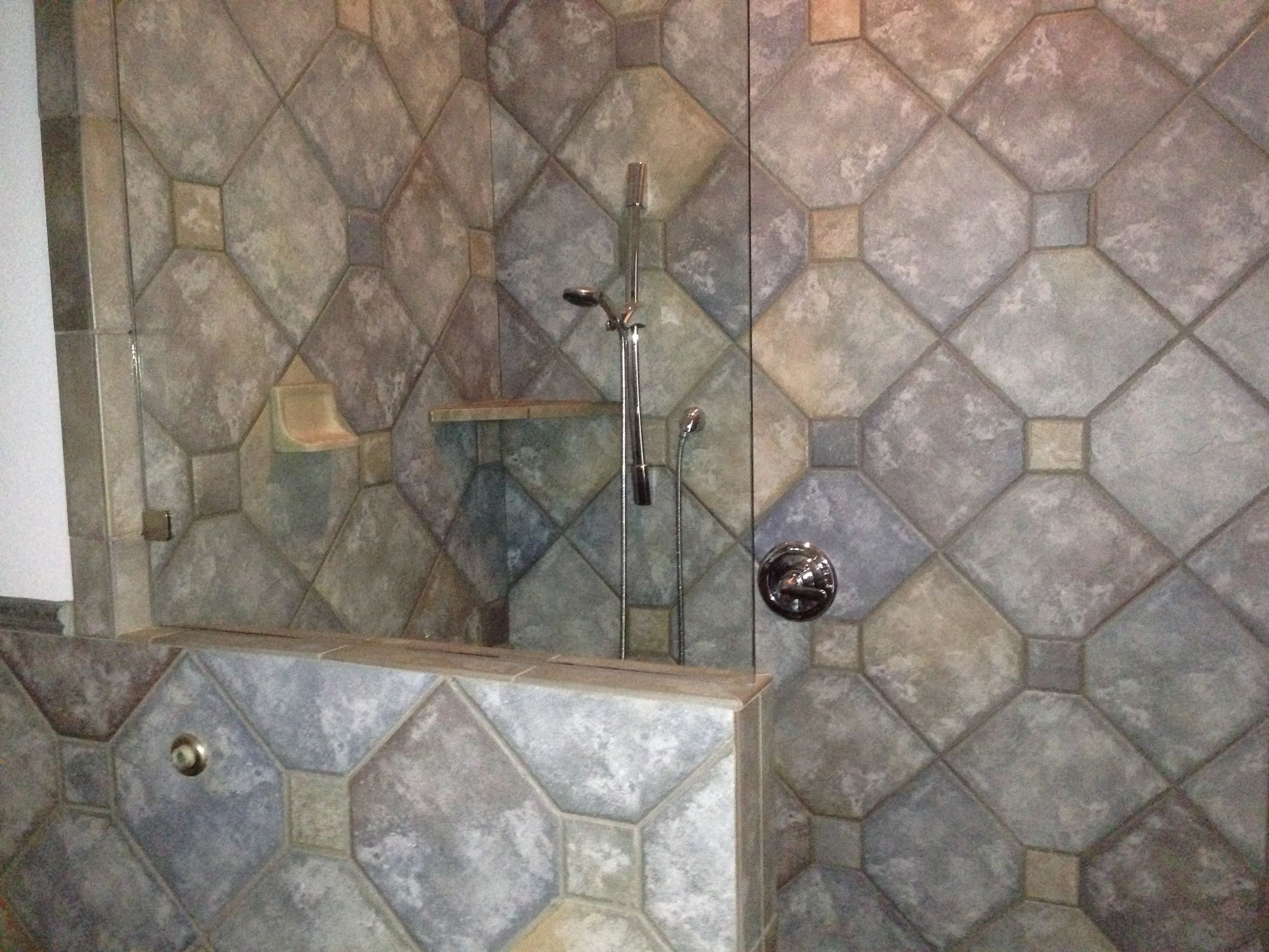 Partial Wall For Walk In Shower Home Decor Pinterest A Walk - Walk in shower designs no door