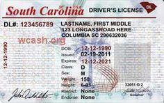 south carolina drivers license expired