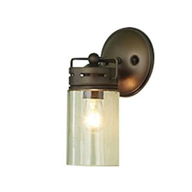 Vallymede 5 In W 1 Light Bronze Arm Hardwired Wall Sconce