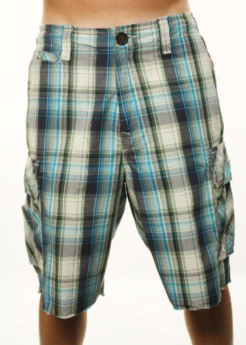 4990d02c7c2d True Religion Men s Plaid Cargo Shorts Blue « Clothing Impulse . I just to  these this summer on sale or 110