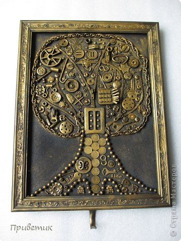 Картина панно рисунок День рождения Коллаж Дерево жизни ...