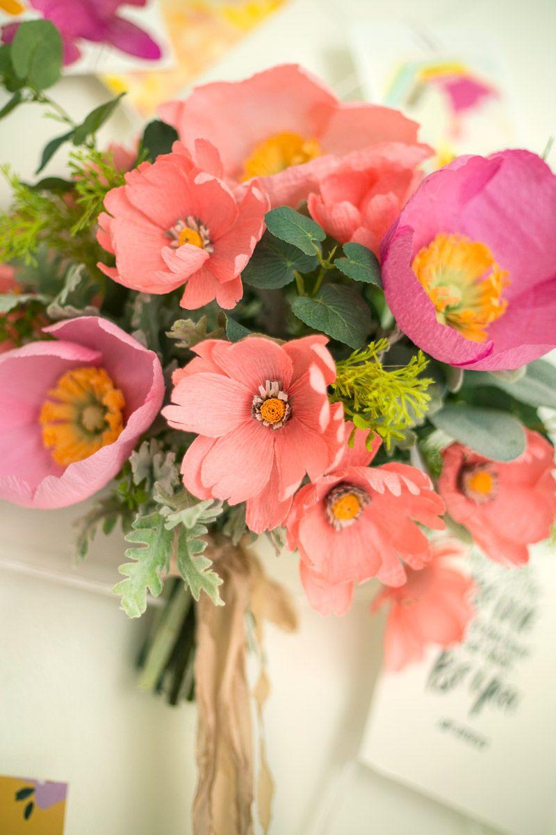 How To Make Paper Flowersappetitepaper Diy