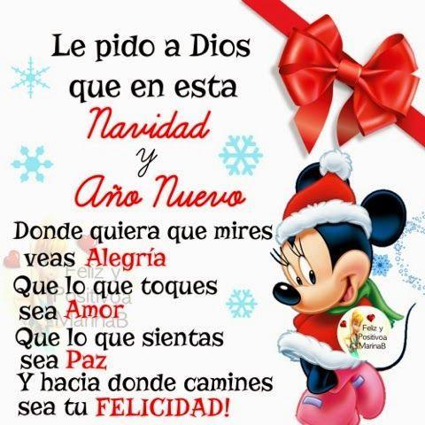 Feliz navidad frases navide as dedicatorias mensajes - Deseos para la navidad ...