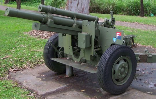 M101A1 Howitzer - 105x372mm