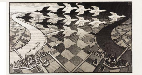 Escher no CCBB
