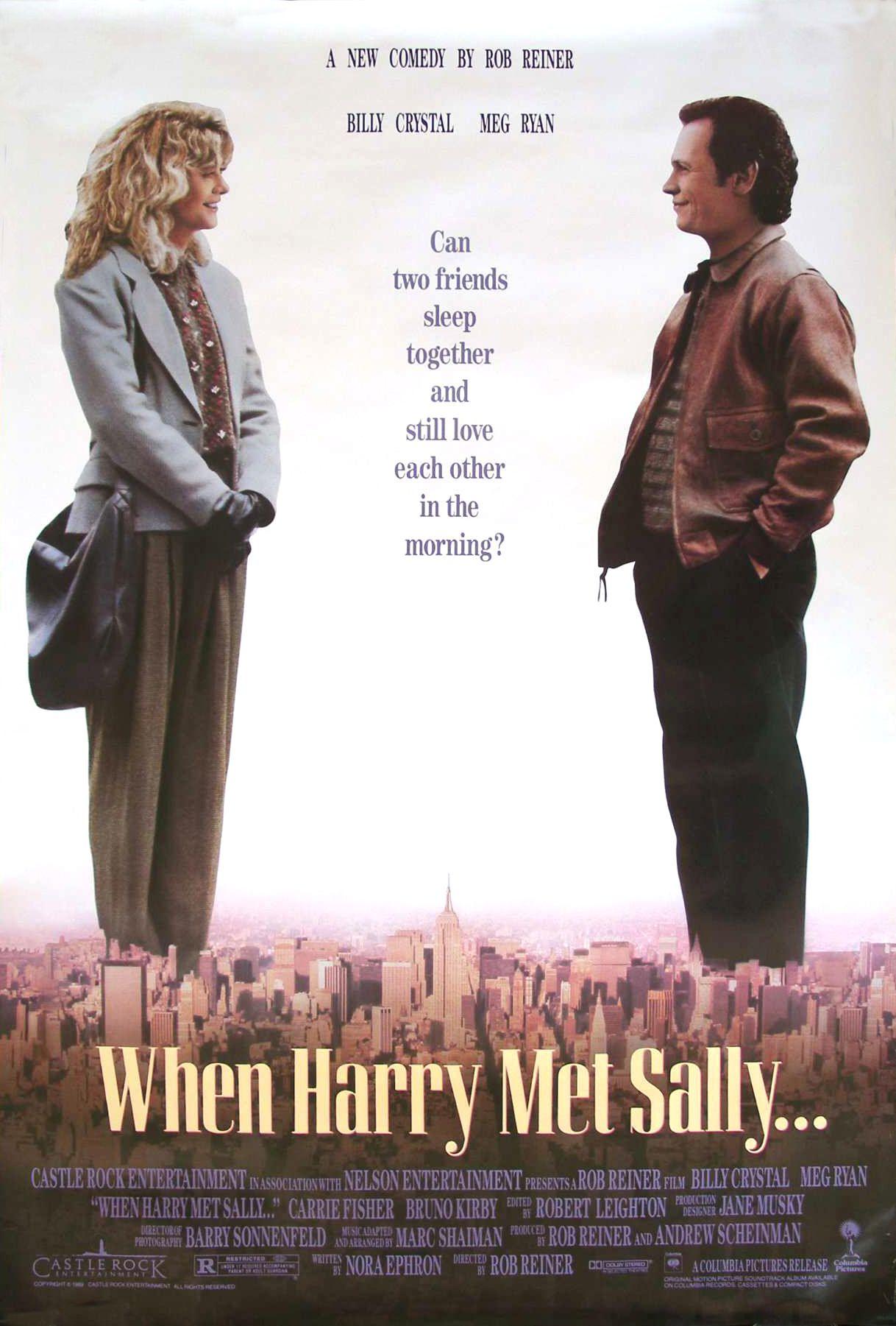 Cuando Harry Encontró a Sally (When Harry Met Sally), de Rob ...