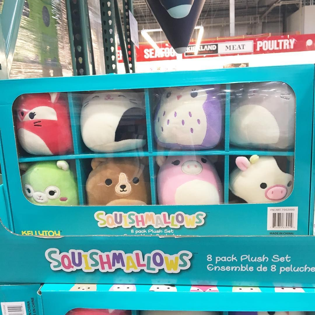 We Had To Go To Costco Quickly And Saw That They Are Selling Squishmallows Squishmallows Squishcollection Toy Toys Cute Plush Kawaii Plushies Kawaii Plush