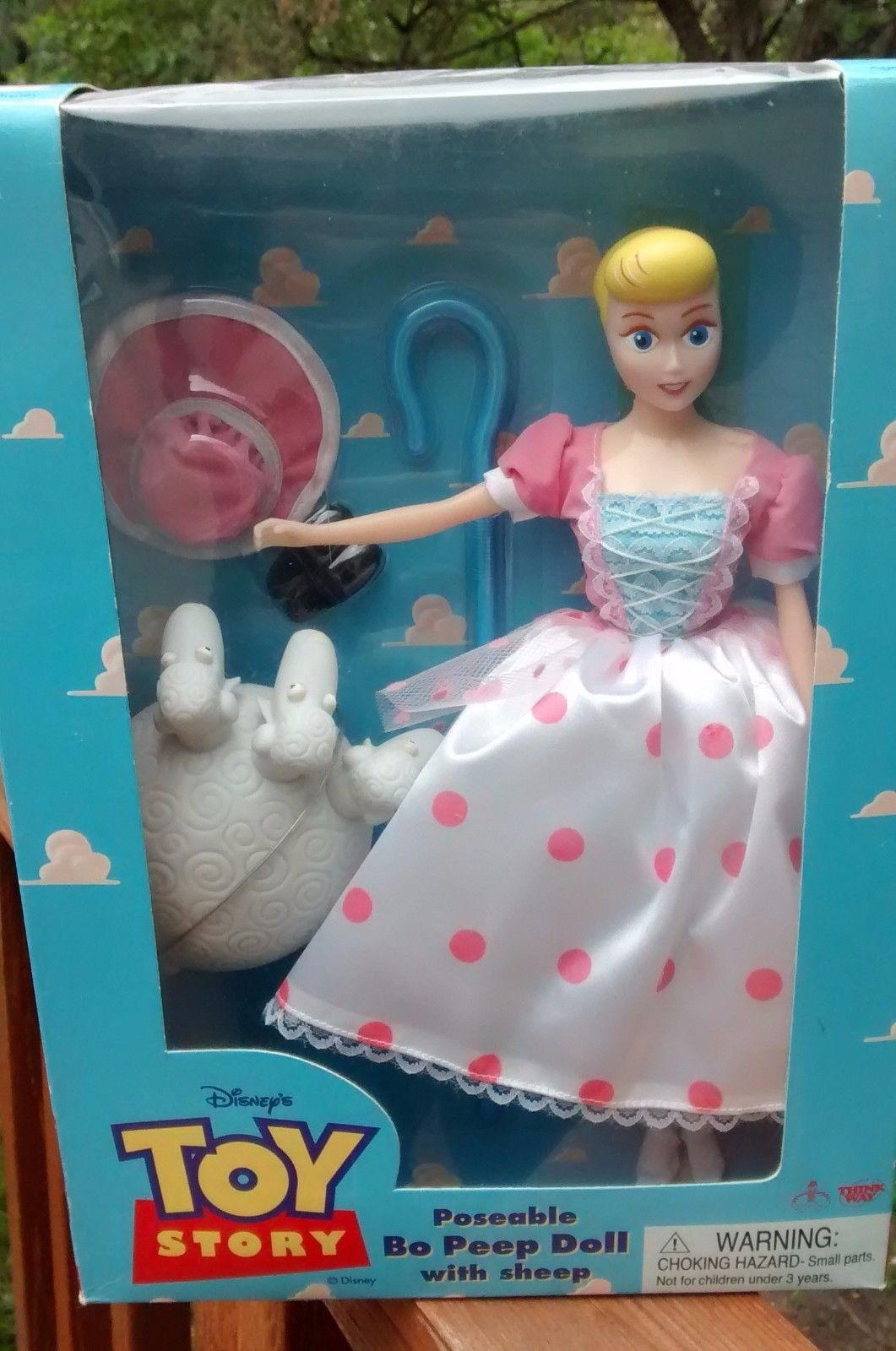 New in Box Disney Toy Story Poseable Little Bo Peep Doll with Sheep ... 92736182023