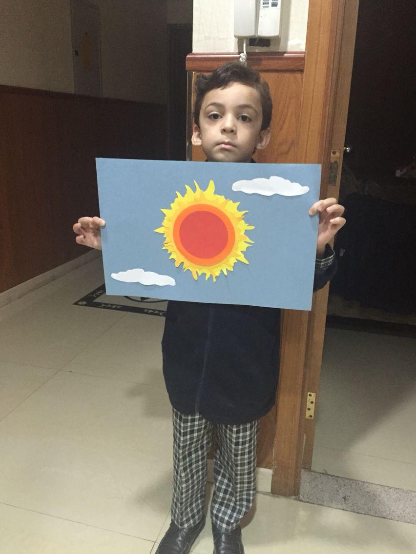 رسم الشمس