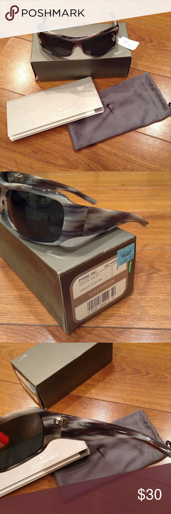 🌟NIKE Men's Sunglasses. EUC!🌟 Worn just a couple of times. No scratches or damage. Comes with everything you see. Retails for over $100. Got them on clearance for $39.99. Great deal for a great pair of sunglasses! Thanks for looking! Nike Accessories Sunglasses